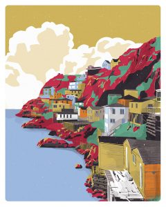 NFLD – Giclee print 'No More Words' series