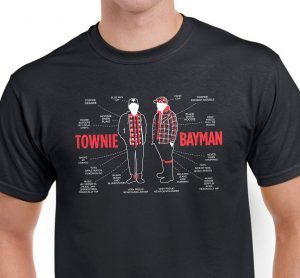 TOWNIE BAYMAN t-shirt